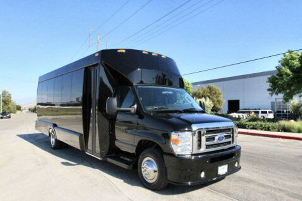 22 passenger party bus Newark
