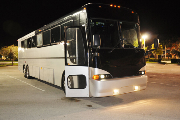 40 passenger party bus Newark