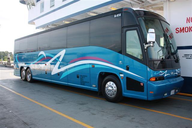 Newark 50 Passenger Charter Bus